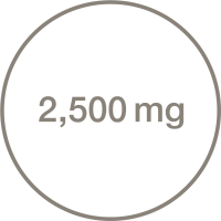 2500 mg Icon